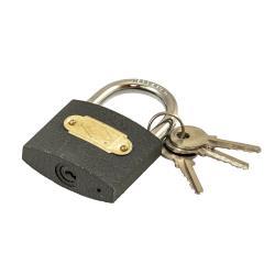 Vorhängeschloss 19/15 Vorhangschloss 3 Schlüssel Spintschloss Bügelschloss,fast,285, 5905912672855