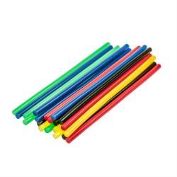 10 x farbige Klebesticks Heißkleber Klebepatronen Ø 11 mm x 200 mm lang farbig,Fast,4447, 5907078944470