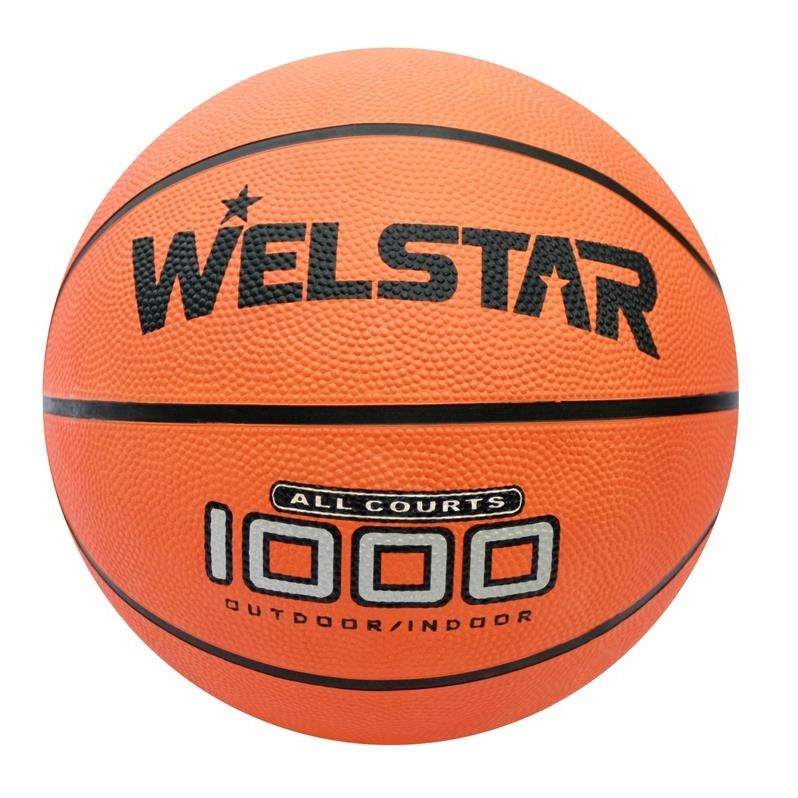 Welstar In/Outdoor Ball Basketball Gr.7 Streetbasketball Korbball Trainingsball,Welstar,000051150662, 4770364057311