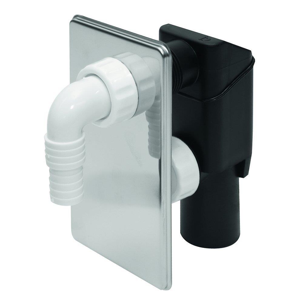 Unterputz Siphon Geschirrspüler UP Sifon Waschmaschine Geruchsverschluss Abfluß,Tycner,000051198103, 5901095516467