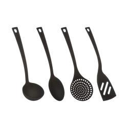 4 tlg Kochbesteck Küchenhelfer Küchenbesteck Küchenutensilien spülmaschinenfest ,Basic&Co,000051356698, 3560234499072