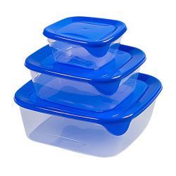 Curver Fresh & Go Frischhaltedosen 3 Stck Vorratsbehälter Vorratsdosen