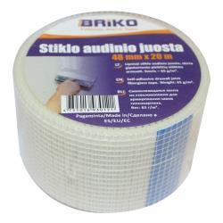 Gitterband 20m x 48mm Fugenband Glasfaser Band Gewebeband,Briko,000051125289, 4751016930121