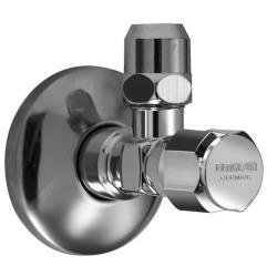 """Eckventil 1/2""""x3/8"""" Ø 10 mm  verchromt Fettkammerspindel  Eckregulierventil Win"""