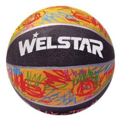 Welstar In/Outdoor Ball Basketball Gr.5 Streetbasketball Korbball Trainingsball,Welstar,000051150663, 4770364057304