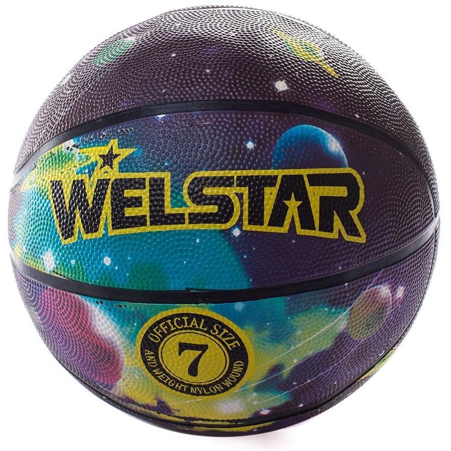 Welstar In/Outdoor Ball Basketball Gr.7 Streetbasketball Korbball Trainingsball,Welstar,000051385274, 4772013159063