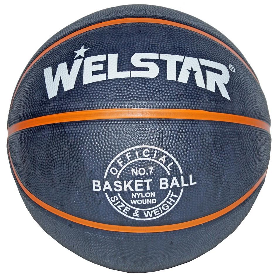 Welstar In/Outdoor Ball Basketball Gr.7 Streetbasketball Korbball Trainingsball,Welstar,000051235057, 4772013042297
