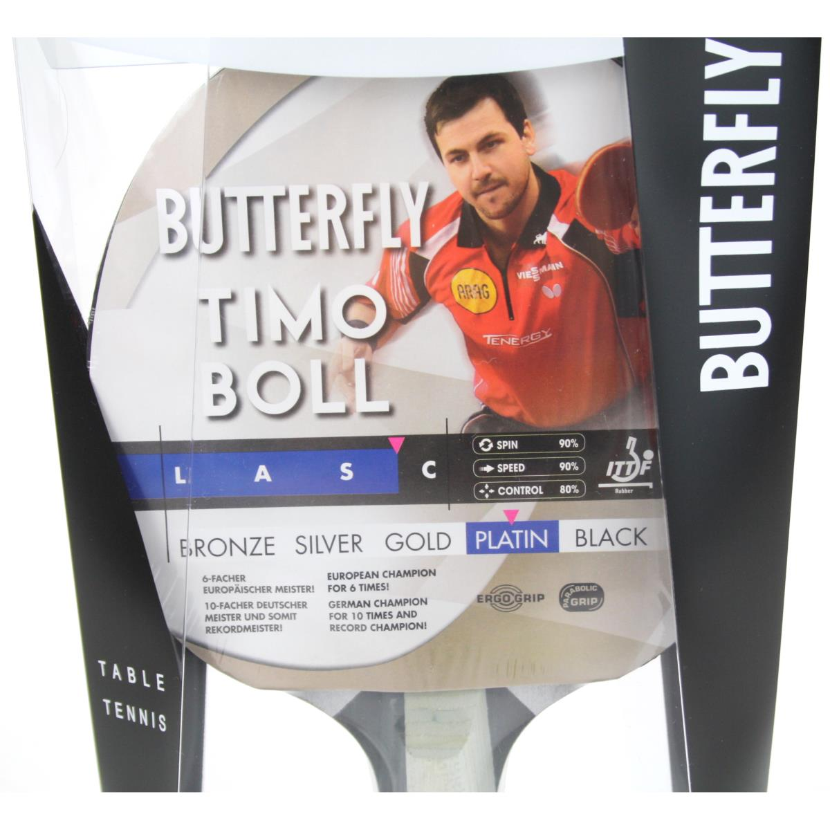 Butterfly Timo Boll Platin 85026 Tischtennisschläger Profi Tischtennis TT,Butterfly Timo Boll,000051376395, 4001078850265