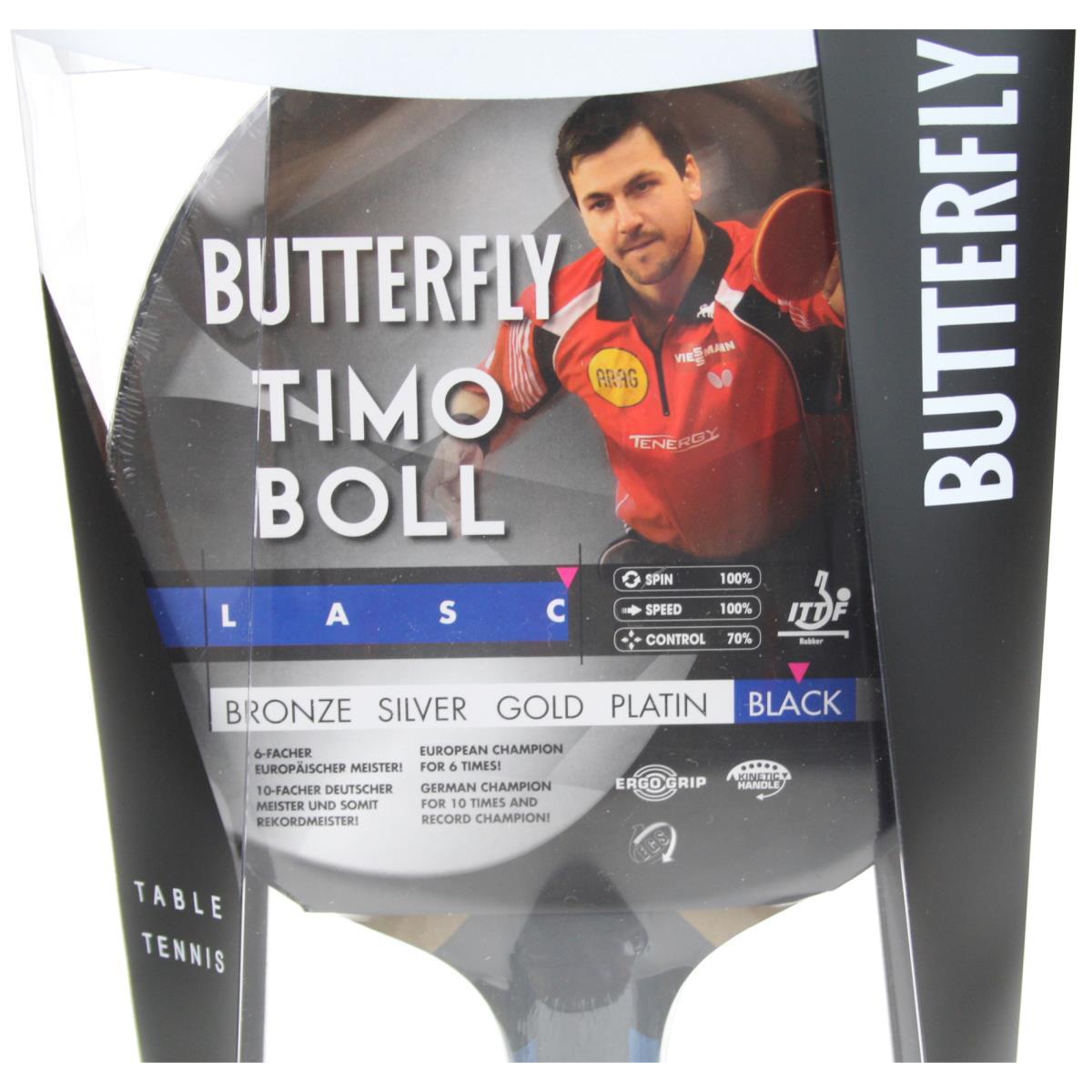 Butterfly Timo Boll Black 85031 Tischtennisschläger Profi Tischtennis TT,Butterfly Timo Boll,000051368879, 4001078850319