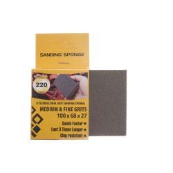 Profi Schleifschwamm Körnung 220 Schleifschwämme 100x68x27mm Schleifklotz,Forte Tools,000051089943, 2000510899437