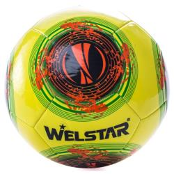 Welstar Fußball Ball Spielball Trainingsball Standardgröße 5 Training,Welstar,000051385275, 4772013159070