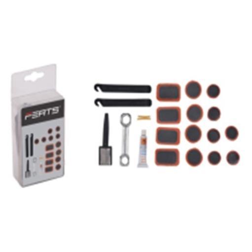 Fahrrad Schlauch Reparaturset Reifenreparatur Pannenset Flickzeug Set,Ferts,000051155552, 4770364098666