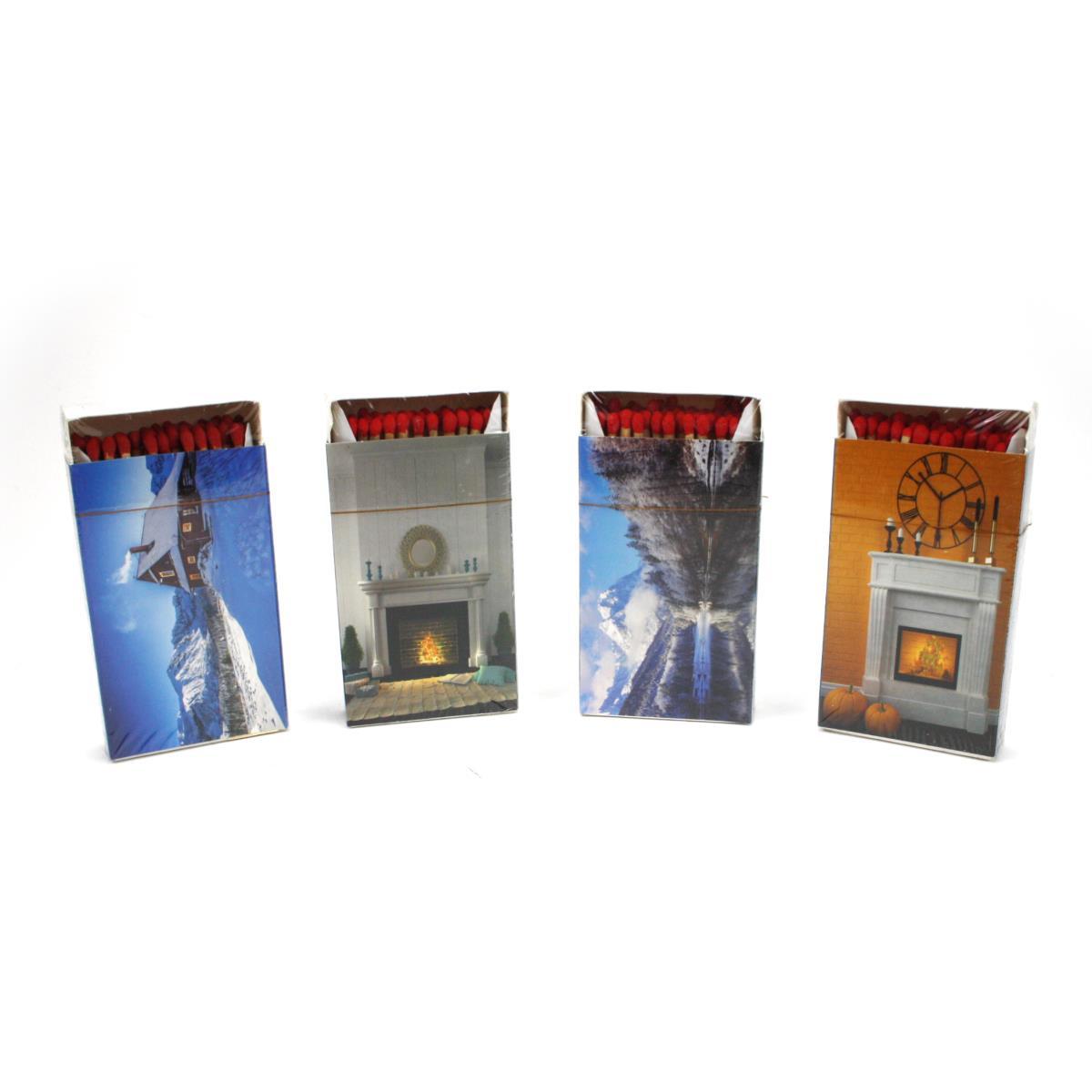 Streichhölzer KaminhölzerZündhölzer 50 Stück Hölzer 10 cm lang ,Flammifera,000051389572, 5907996370627
