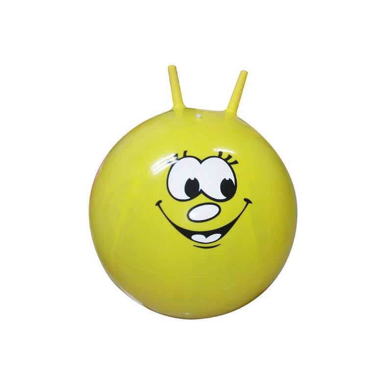 Hüpfball mit Griffen für Kinder Ø50cm Sprungball Gymnastikball Springball,Live Up,000051076217, 4770364092824