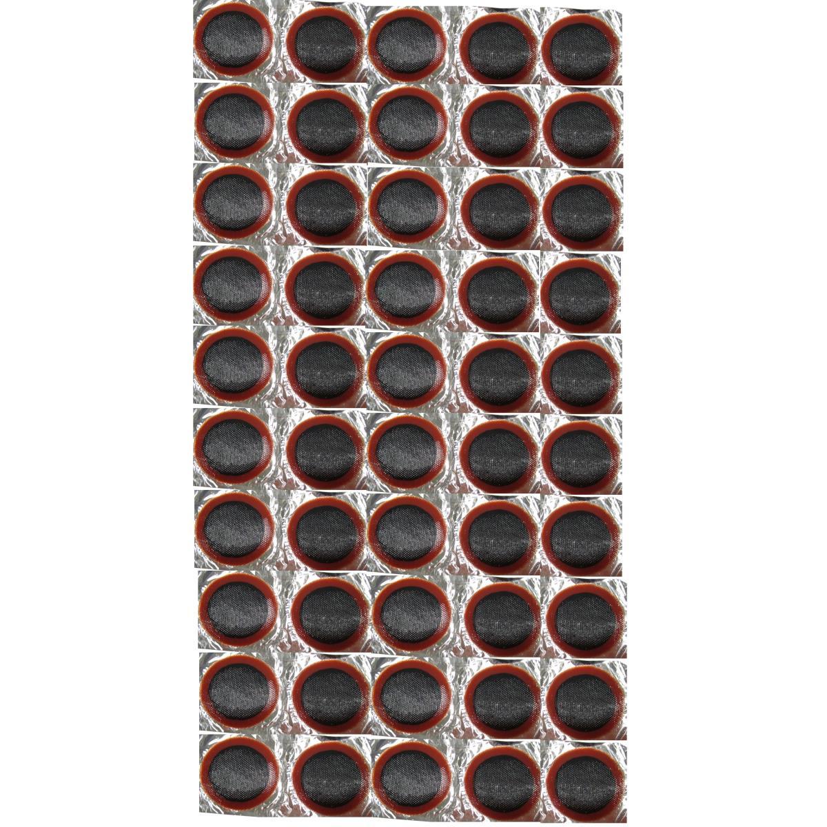 50x Fahrrad Schlauch Reparatur Flicken Ø 34 mm Reifenreparatur Flickzeug Patches,Thumbs Up,000051197295, 4770364265662