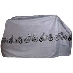 Fahrradabdeckung 200x110x58 cm Fahrradschutzhülle Fahrradhülle Fahrradplane