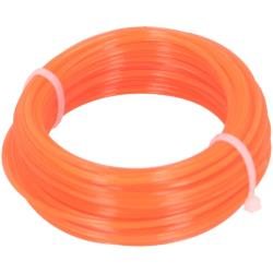 Trimmerschnur 150 m Ø 1,6mm orange Trimmerfaden Mähfaden Trimmerfaden