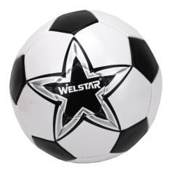 Welstar Fußball Ball Standardgröße 5 Spielball Trainingsball Training