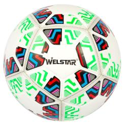 Welstar Fußball Ball Standardgröße 5 Spielball Trainingsball Training