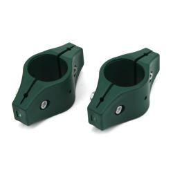 2x Schelle für 38 mm Zaunpfosten Zäune Mittelschelle Pfostenschelle Zaun Pfosten,Garden Center,000051123710, 4770364000836