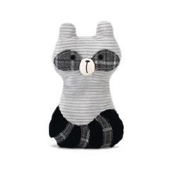 Hundespielzeug Plüschich Tier Waschbär Plüschtier füt Hund Designed by Lotte