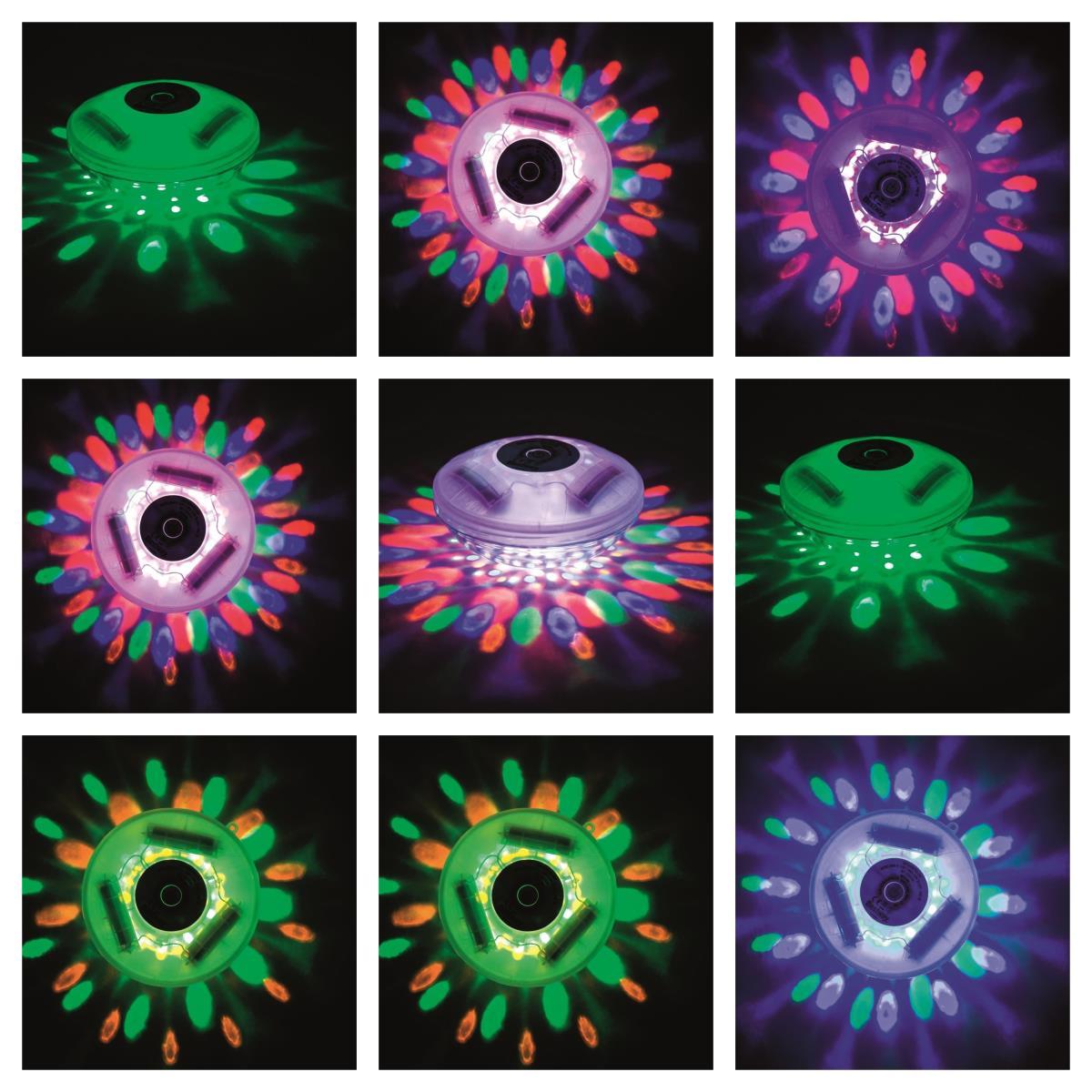 Bestway Flowclear LED Poolbeleuchtung schwimmende Unterwasserbeleuchtung Pool ,Bestway,58419, 6942138934939