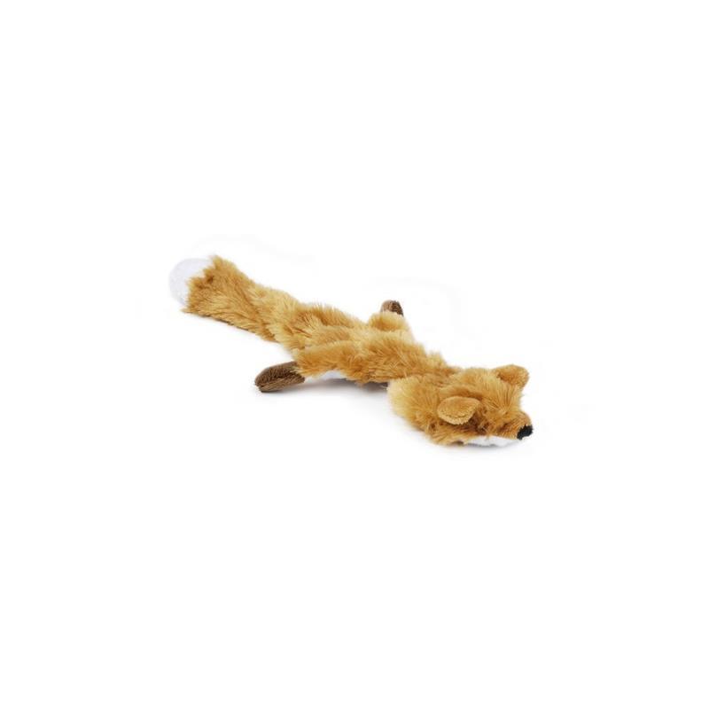 Hundespielzeug Flatinos Plüschich Tier Fuchs Plüschtier füt Hund,Beeztees,0619625, 8712695118824