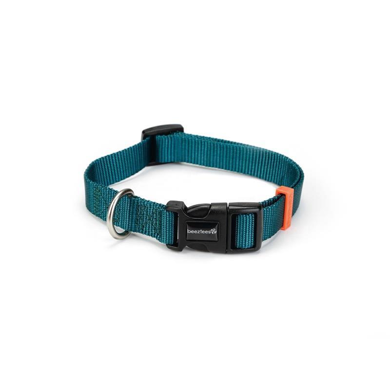 Hundehalsband Nylon Halsband verstellbar 26-40cm Kragen Welpen Hunde,Beeztees,0746585, 8712695145585