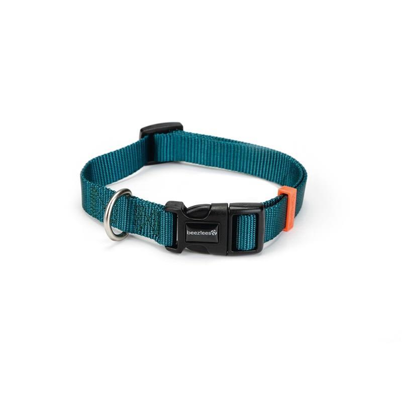 Hundehalsband Nylon Halsband verstellbar 35-50cm Kragen Welpen Hunde,Beeztees,0746586, 8712695145592