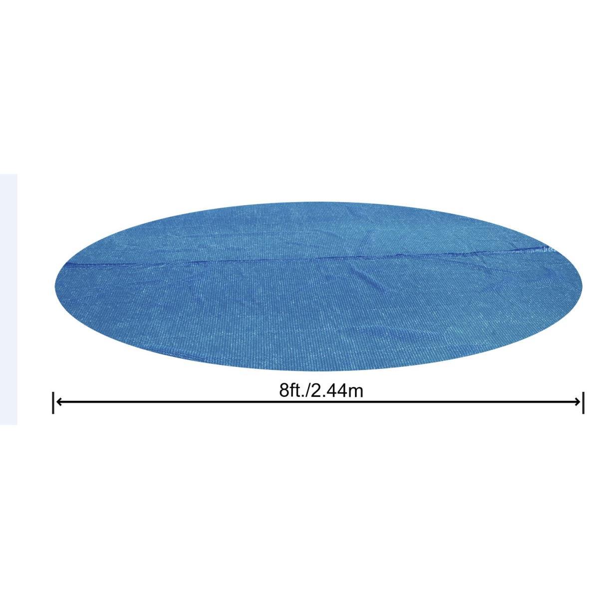 Bestway Flowclear Solarabdeckplane  Ø 210 cm Poolabdeckung Abdeckplane Pool,Bestway,58060, 6942138918328