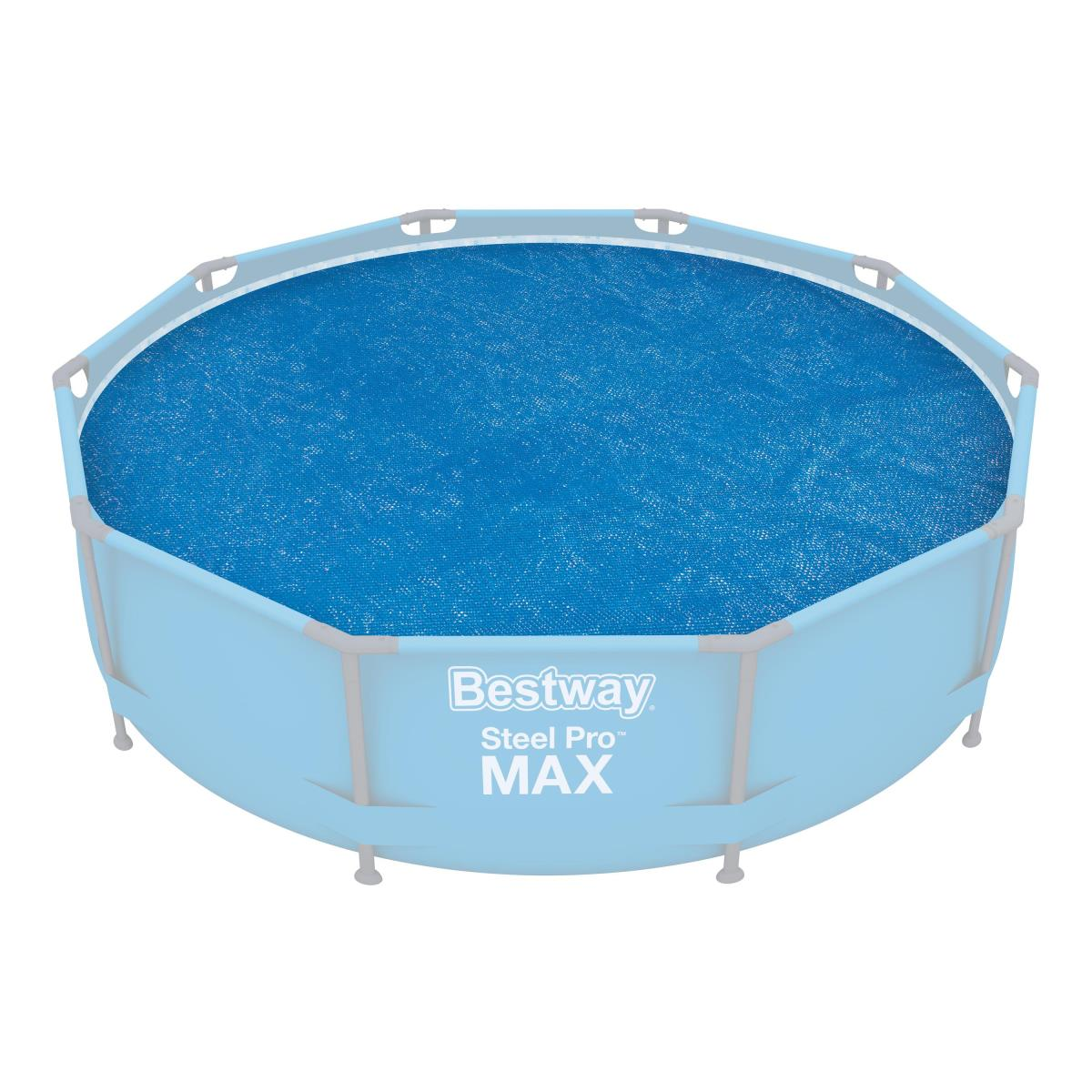 Bestway Flowclear Solarabdeckplane  Ø 289 cm Poolabdeckung Abdeckplane Pool,Bestway,58241, 6942138918861