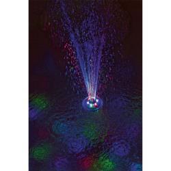 Schwimmende LED beleuchtete Wasserfontäne Springbrunnen Wasserfall Poollicht