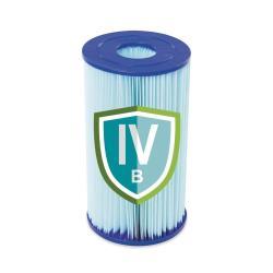 Bestway Pool Filterkartusche Poolreiniger Ersatzfilter Gr.IV 14,2 x 25,4 cm