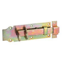 Schlossriegelmit mit Schlaufe und Flachem Griff 180x64mm verzinkt, GAH 116743