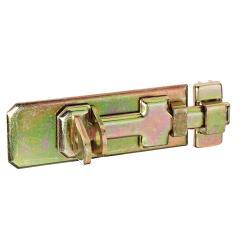Sicherheits-Schlossriegel mit Schlaufe und flachem Griff 140 x 55mm, GAH 123086