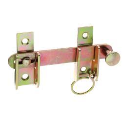 Schlagladen-Überwurf mit Feststell-Vorrichtung 120x65mm verzinkt, GAH 314446,GAH Alberts,314446, 4004338314446