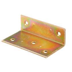 Breitwinkel ungleichschenklig 40x25x75mm gelb verzinkt, GAH 332501,GAH Alberts,332501, 4004338332501