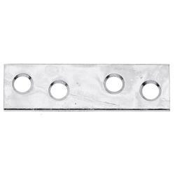 12x Flachverbinder 50x14mm gelb verzinkt, GAH 336417