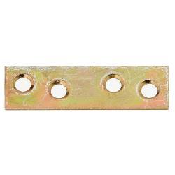 Flachverbinder 50x14mm gelb verzinkt, GAH 339241