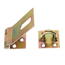 Sicherheits-Überfalle 85x37x38mm gelb verzinkt, GAH 348359