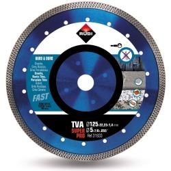 Rubi Super Pro Diamanttrennscheibe Turbo Viper TVA 125 für harte Materialien,Rubi,31933, 8413797319330