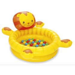 Bällebad + 50 bunte Bälle Spielbälle Pool Kinderpool Bällebad Kugelbad Bällepool