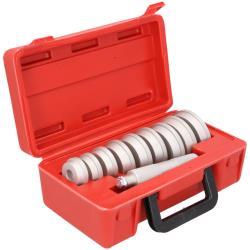Radlager Werkzeugsatz 10tlg Druckstücksatz Austreiber Schlagdorn Presswerkzeug