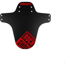 RockShox MTB Gabel Fender Schwarz mit Boxxerrot Print Fahrrad Rungen Schutz