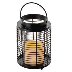 Weihnachts Deko LED Laterne Kerze Flackernd vintage Leuchte Beleuchtung