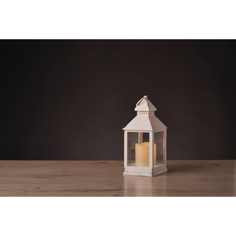 Weihnachts Deko LED Laterne Kerze Flackernd weiß Leuchte Beleuchtung,Emos,ZY2114, 8592920061046