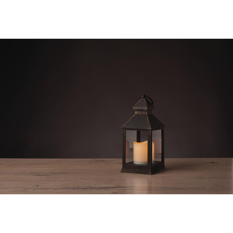 Weihnachts Deko LED Laterne Kerze Flackernd vintage Leuchte Beleuchtung,Emos,ZY2115, 8592920061053