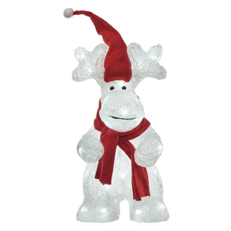LED Rentier Weihnachts Beleuchtung Weihnachtsdeko Weihnachten Figur Xmas,Emos,ZY2292, 8592920077986