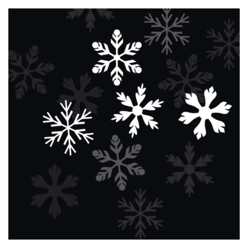 Weihnachts LED Laser licht Projektor Haus Deko Weihnachten Flocken Beleuchtung,Emos,ZY1936, 8592920041383