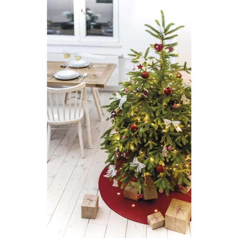 LED Weihnachtsbaum Unterlegscheibe Ø 100 cm Deko Matte Christbaum Tannenbaum,Emos,ZY2266, 8592920078167